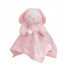 BC26-P: Bunny Comforter w/Bow (Pink Only)
