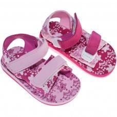 E185: Floral Print EVA Sandals (15-24 Months)