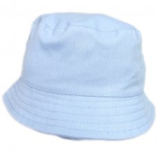 0193: Boys Plain Bucket Hat With Chin Strap (1- 4 Years)