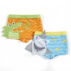 09C050: Baby Boys Novelty Swim Trunks (6-24 Months)