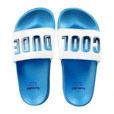 100C014: Boys 3D Sliders- Cool Dude (Kids Shoe Sizes: 8-3)