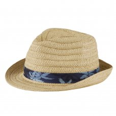 10C175-7-13: Older Boys Trilby Hat (7-13 Years)