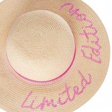 10C180: Older Girls Sequin Wide Brim Hat (7-13 Years)