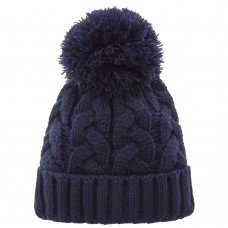 10C196/7-13 Older Boys Cable Knit Hat (7-13 Years)