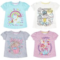 11C139: Infant Girls Printed T-Shirts (2-6 Years)