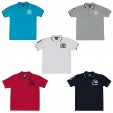 11C071: Older Boys Pique Polo With Emblem (7-13 Years)
