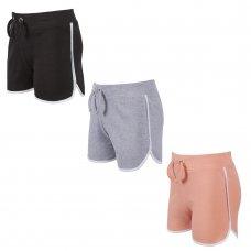 12C125: Older Girls Interlock Shorts (7-13 Years)