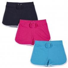 12C126: Older Girls Interlock Shorts (7-13 Years)
