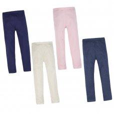 12C131: Older Girls Single Pack Leggings - Assorted Colours (7-13 Years)
