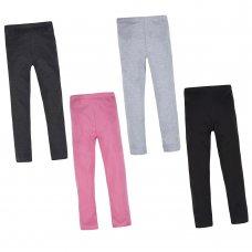 12C132: Older Girls Single Pack Leggings - Assorted Colours (7-13 Years)