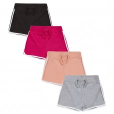 12C137: Older Girls Interlock Shorts (7-13 Years)