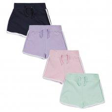 12C138: Older Girls Interlock Shorts (7-13 Years)