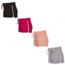 12C139: Infant Girls Interlock Shorts (2-6 Years)