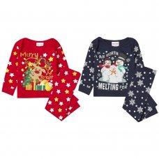 15C487: Baby Christmas Printed Pyjama (6-24 Months)