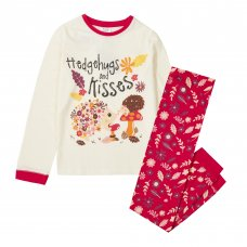15C501: Infant Girls Hedgehog Pyjama (2-6 Years)