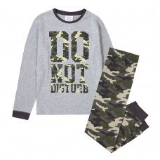 15C502: Older Boys Camo Pyjama (7-13 Years)