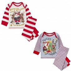 15C515: Baby Christmas Printed Pyjama (6-24 Months)
