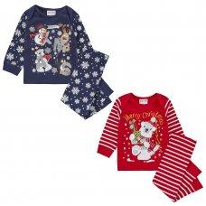 15C517: Baby Christmas Printed Pyjama (6-24 Months)