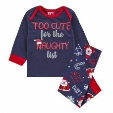 15C519: Baby Christmas List Family Pyjama (0-24 Months)