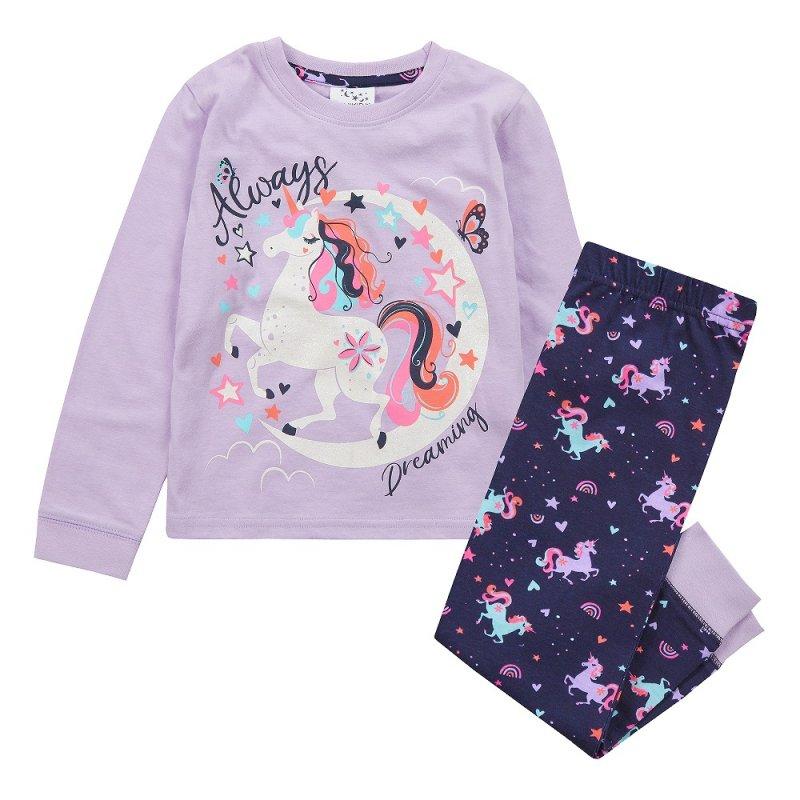 15C528: Older Girls Unicorn Pyjama (7-13 Years)