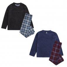 15C540: Older Boys Soft Handle Micro Fleece Pyjama/ Lounge Set (7-13 Years)