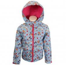 56725: My Little Pony Girls Pink Rainbow Dash Fleece Lined Jacket (2-9 Years)