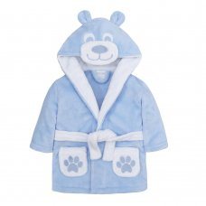 18C450: Baby Sky Novelty Teddy Dressing Gown (6-24 Months)