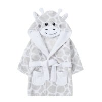 18C539: Baby Novelty Giraffe Dressing Gown (6-24 Months)