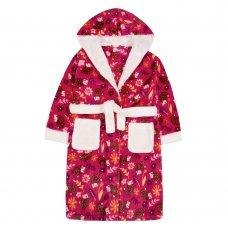 18C617: Older Girls Hedgehog Dressing Gown (7-13 Years)