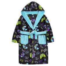 18C703: Older Boys Gaming Dressing Gown (7-13 Years)