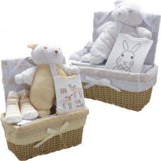 3181WC: Baby 5 Piece Luxury Basket Gift Set (0-3 Months)