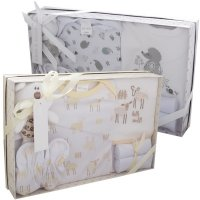 3294LC: 7 Piece Luxury Boxed Gift Set (0-3 Months)