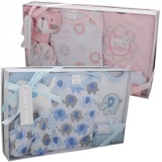3294PB: 7 Piece Luxury Boxed Gift Set (0-3 Months)