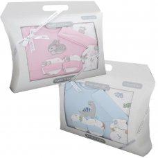 3305: 4 Piece Luxury Boxed Gift Set (0-3 Months)