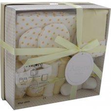 3322L: Lemon 7 Piece Luxury Boxed Gift Set (0-3 Months)