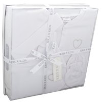 3335W: 4 Piece Luxury Boxed Gift Set (0-3 Months)