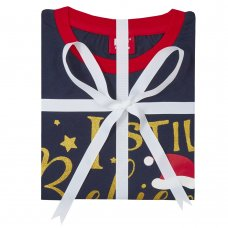 34B1577: Ladies Christmas Family Pyjama (S-XL)