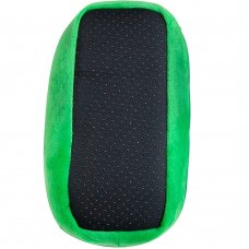04476: Kids Minecraft Creeper 3D Green Slipper (Kids Shoe Sizes: 8-13)