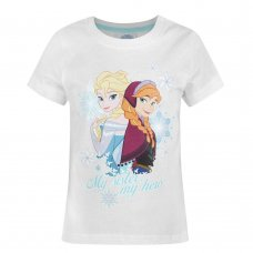 FR1: Infant Girls Frozen Printed T-Shirt (1.5-8 Years)