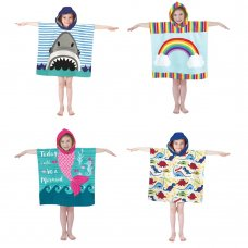 BIT192562: Poncho Pal Hooded Beach & Bath Robe (3 Years +)