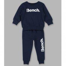 Jude Navy: Boys Bench Sweat Top & Jogpant Set (1.5-4 Years)