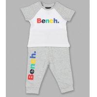V21313:  Baby Boys Bench T-Shirt &  Jog Pant Set (3-18 Months)