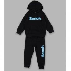 Waylon Black: Boys Bench Sweat Hoody & Jogpant Set (1.5-4 Years)