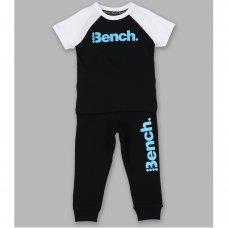 Aiden Black: Boys Bench T-Shirt & Jogpant Set (1.5-4 Years)