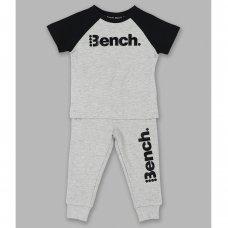 Aiden Grey: Boys Bench T-Shirt & Jogpant Set (2-4 Years)