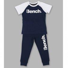 Aiden Navy: Boys Bench T-Shirt & Jogpant Set (1.5-4 Years)