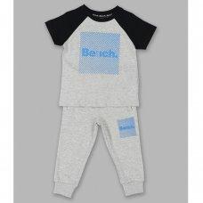 Jasper Grey: Boys Bench T-Shirt & Jogpant Set (1.5-4 Years)