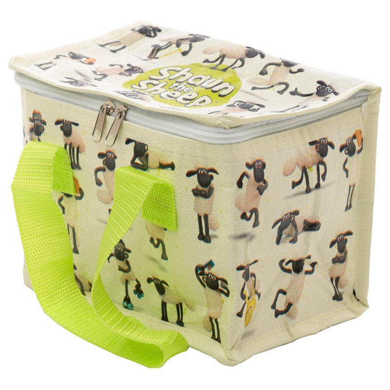 COOLB56: Woven Cool Bag Lunch Box - Shaun The Sheep