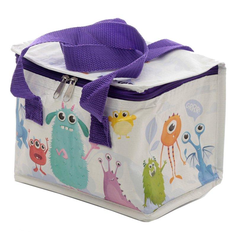 COOLB57: Woven Cool Bag Lunch Box - Monstarz Monster