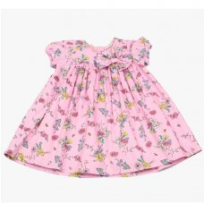 GF3102: Infant Girls All Over Print Cotton Lined Dress (1-3 Years)